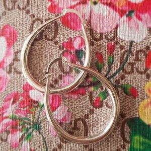 Jewelry - 925 Sterling Silver Round Hoop earrings
